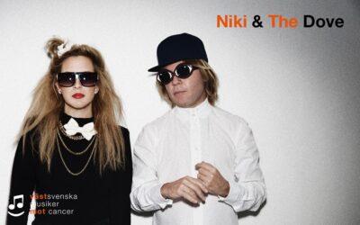 Niki & The Dove kommer till Västsvenska Musiker Mot Cancer!