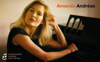 Amanda Andréas kommer till Västsvenska musiker mot cancer!