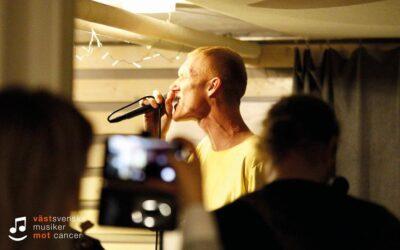 Kapten Röd repar inför Västsvenska Musiker Mot Cancer!